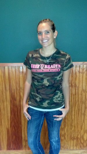 District Threads� - Short Sleeve Camo Womens Tee